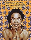 VGSD® Musik Sänger Poster Lauryn Hill Sänger Leinwand