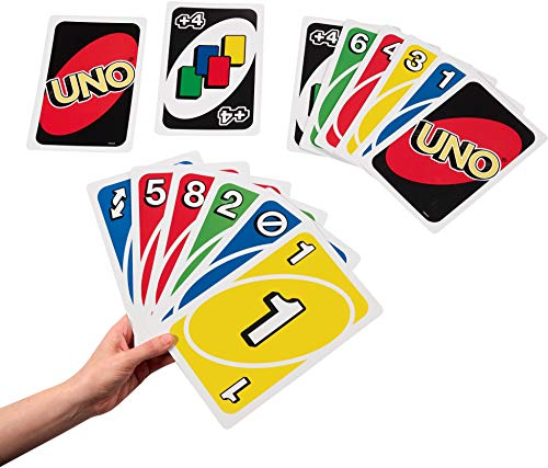 Mattel Board Games UNO: Classic Giant UNO, Multicolor For 9 Year Old