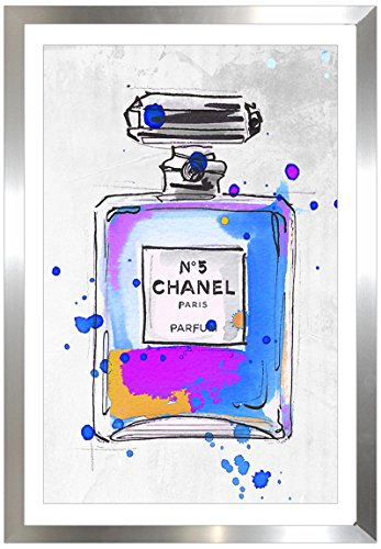 Picture Perfect International by Chanel Parfum 5 cm von Jodi gerahmtes Plexiglas Wall Art
