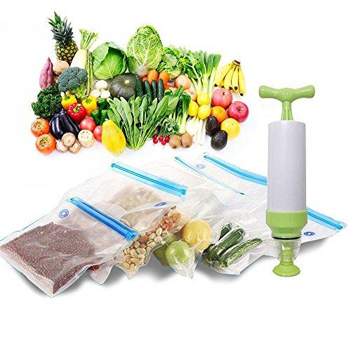 OFKPO Sellador de Alimentos al Vacío, Selladora al Vacío para Conservación de Alimentos Máquina...