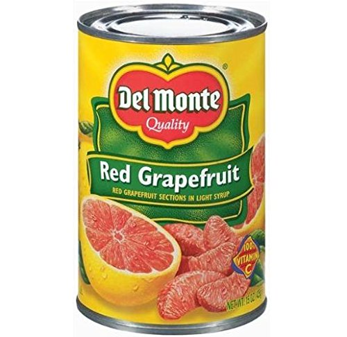 Del Monte Red Grapefruit Sections in Light Syrup 15 oz