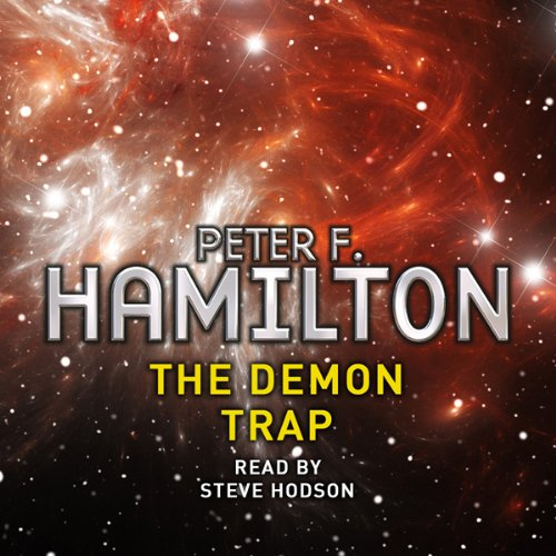 The Demon Trap audiobook cover art