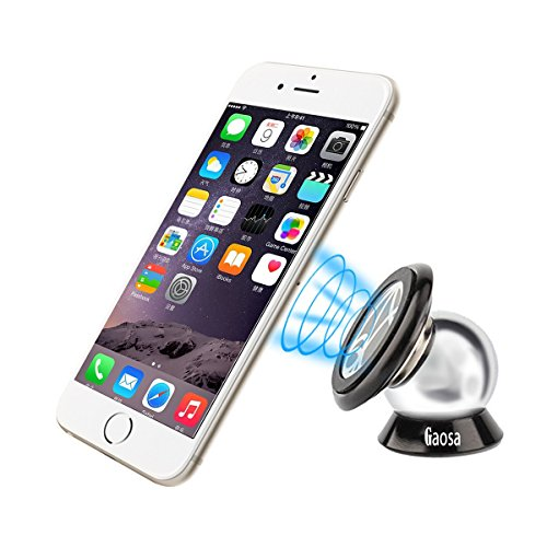 Magnetic Car Mount Gaosa Ultra Slim Phone Holder,360 Degrees Universal Stand for All Smartphones