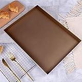 Teglie da forno, teglie da forno in lega di alluminio Teglia da forno per torte da forno 40 * 30 * 3cm