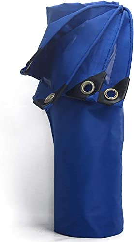 Bache revêtement Bleu imperméable de PVC, Couverture de pour la Maison, Jardin, extérieur, Camping, 420g   (Taille   3×6m)
