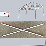 Ozark Trail First Up 10 X 10 Canopy Middle Truss BAR 40' Replacement Parts White