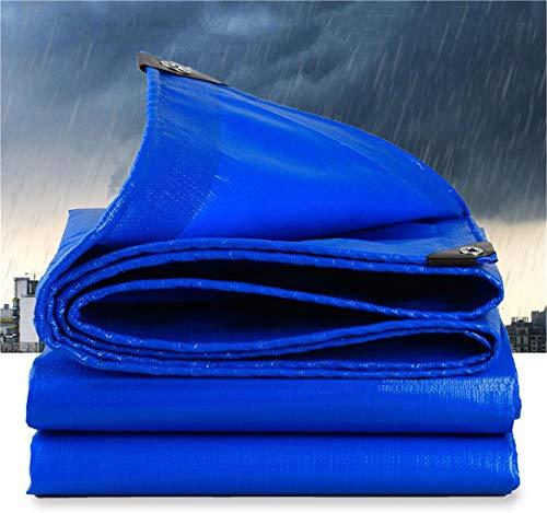 Jiaqi verdikte regendoek waterdicht zonnescherm zeildoek,Dekzeil voor vrachtwagens Kunststof kapluifelstof,Anti-aging slijtvaste goederenwagen,Bedek de regen,Peraincloth,6 * 8M