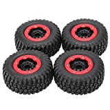 Goolsky AUSTAR 4Pcs AX-3009 High Performance 108mm 1/10 Short Course Truck Tires with Wheel Rim for All Terrain