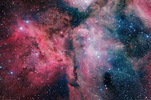 1art1 Der Weltraum - Leuchtender Sternenstaub Und Kosmische Wolken XXL Poster 120 x 80 cm