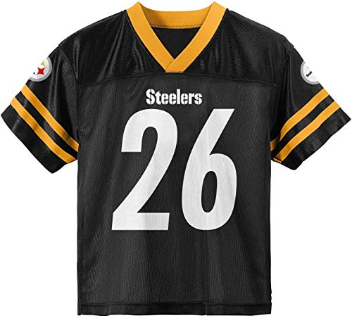 Leveon Bell Pittsburgh Steelers Black #26 Youth 8-20 Home Alternate Player Jersey (X-Small)