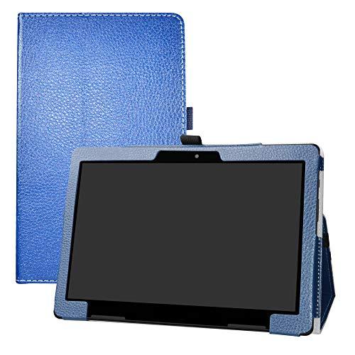 Medion LIFETAB E10713 Hülle,LFDZ Schutzhülle mit Hochwertiges PU Leder Tasche Case für 10.1