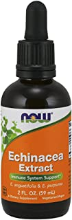 NOW Supplements, Echinacea Extract Liquid with Dropper, Immune System Support*, 2-Ounce