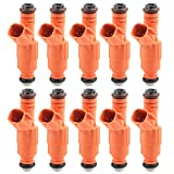 Bapmic 0280155917 Fuel Injectors EV6 Style for Ford Lincoln Mercury 4.6L 6.8L...