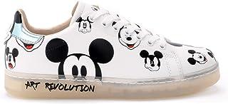 tienda en linea zapatilla zapatilla zapatilla de deporte Mickey blanco TRASPARE - 38  están haciendo actividades de descuento