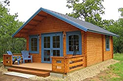 Amazon Tiny Houses--Lillevilla Allwood Getaway Cabin