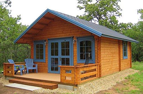 Lillevilla Getaway   292 SQF Cabin Kit with a Loft (Getaway Cabin kit)