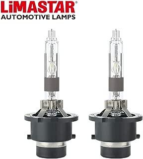 LIMASTAR 5000K D2R HID Bulbs 35W Car HID Xenon Headlights Replacement Bulbs (2pcs)