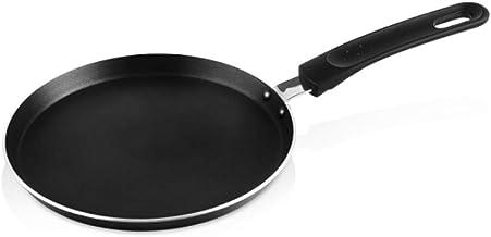 LJBH Frying Pan, Non-stick Pan, Banquet Plate, Frying Pan, Non-stick Omelet, Eucalyptus Bark, Cake Dough, Dough, Universal...