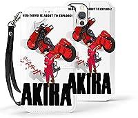 Akira Tokyo iphone12 ケース 手帳型 iPhone12 Proケース アイフォン12 Pro Maxケース ワイヤレス充電対応 マグネット 落下防止 全面保護 携帯ケース スマホカバー 超薄 超軽量 耐衝撃 おしゃれ 指紋防止