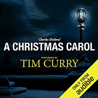 Couverture de A Christmas Carol: A Signature Performance by Tim Curry
