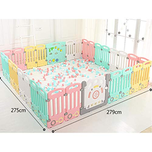 Best Bargain DNSJB Baby Playpen Children Fence with Activity Panels, Baby Indoor Protective Fence In...
