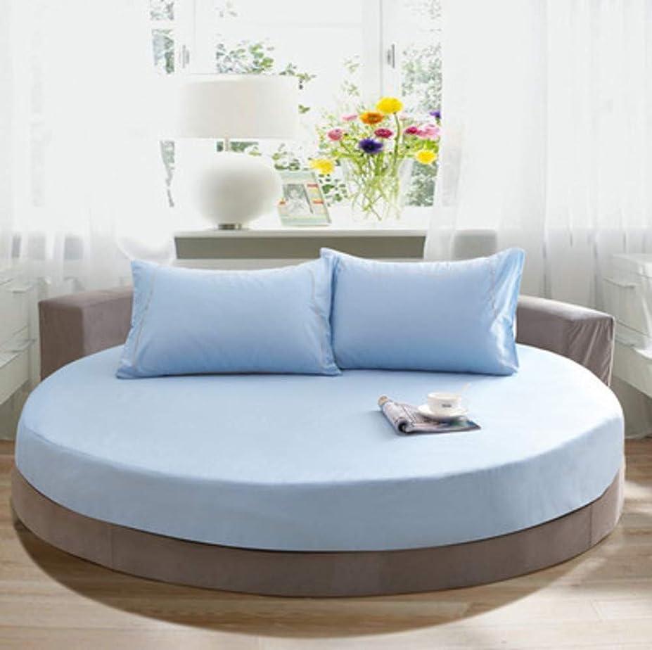 障害者肉の品種コットン ベッド スカート,単色 ラウンド ベッド シート ベッド カバー 簡単なケア ほこりしわ ベッド カバー シート,キルト綿のベッド スカート-F