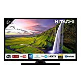 Hitachi Téléviseur LED 32' 80,01cm Full HD avec Alexa/Smart TV: Netflix, Youtube, Prime/WiFi/Bluetooth / 3 HDMI/PC/USB