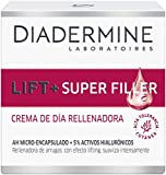 Diadermine - Crema de Día Lift+ Super Rellenador, 50 ml, con micro cápuslas de Ácido Hialurónico, para pieles maduras, Acción antiarrugas