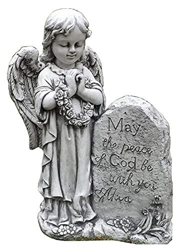 Esculturas de Escritorio, Garden Angel Girl Orando estatuas, Decoraciones al Aire Libre de Alta Gama, Modelo de artesanía Estatuillas de decoración de Villas