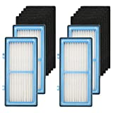 Cobeky Piezas de repuesto para Holmes AER1 HAPF30AT Filtro de aire total tipo HEPA incluye 4 filtros +10 prefiltros de carbón