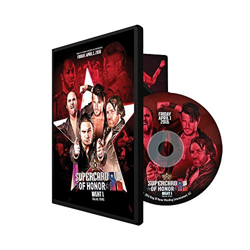 ROH - Ring of Honor Supercard of Honor X 10 Night 1 2016 Event DVD