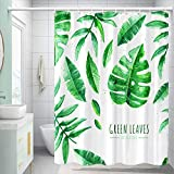 XEUYUTR White Fabric Shower Curtain for Bathroom, Waterproof Shower Curtain Set with 12 Hooks, Support Washing Machine Cleaning(72In x 72In, White)