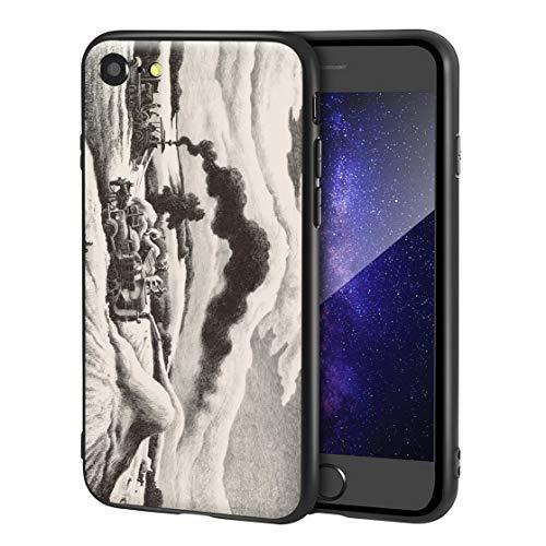 Thomas Hart Benton Custodia per iPhone SE(2020)/iPhone 7/8/per Cellulare Arti/Stampa giclée a UV sulla Cover del Telefono(Trilla)