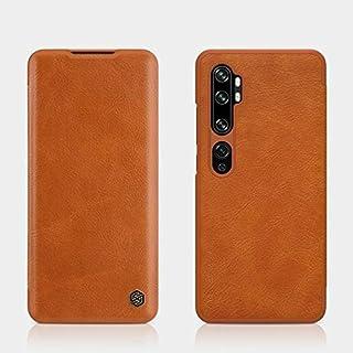 جرابات نصف ملفوفة جديدة - جراب NILLKIN Vintage Qin Flip Cover Wallet PU Leather PC لهواتف mi note 10 pro/mi cc9 pro (Brown...