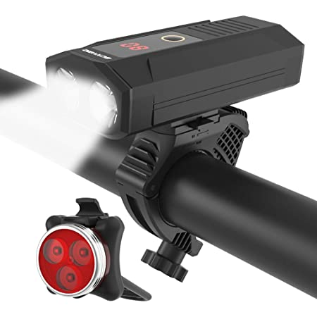 1200 Lumens Bicycle Led Head Light Cycling BRIGHT USB Rechargeable Bike Lights
