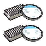 CleanMonster - Juego de 2 filtros para aspiradora Rowenta Compact Power Cyclonic como RO3731EA, RO3724EA, RO3753EA, RO3786EA, RO3798EA, RO3718EA, RP3721EA, filtro como ZR005901