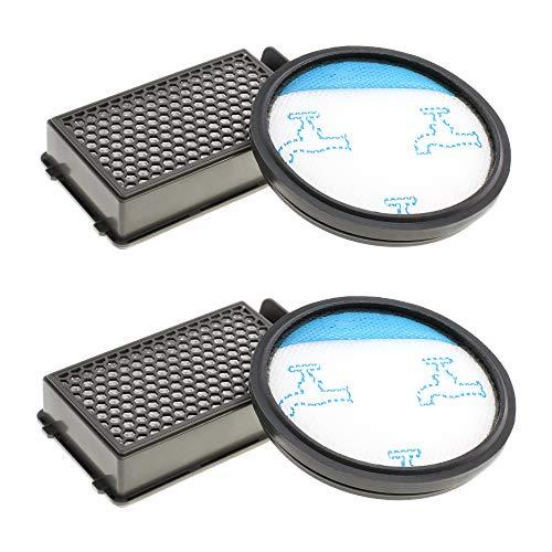 2x Hepa Staubsaugerfilter Set für Rowenta Compact Power Cyclonic Staubsauger wie RO3731EA, RO3724EA, RO3753EA, RO3786EA, RO3798EA, RO3718EA, RP3721EA, Filter wie ZR005901,Filter von CleanMonster