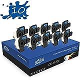 RINKLEE DK-11204 Etiquetas Compatible para Brother P-Touch QL-500 QL-550 QL-560 QL-570 QL-580 QL-700 QL-710W QL-720NW QL-800 QL-810W QL-820NWB QL-1060N QL-1100 QL-1110NWB | 17 x 54 mm | 10 Rollos