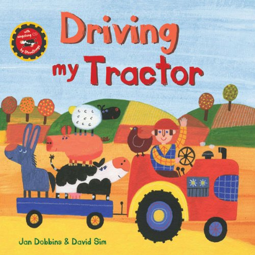 Driving My Tractor audiobook cover art