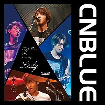 Live-2013 Zepp Tour -Lady-