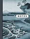 Notes: Composition Notebook Journal (Large) - Ruled Lined Writing And Journaling Book - Japanese Landscape