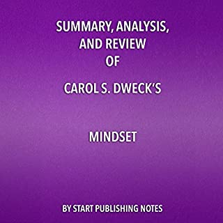 Summary, Analysis, and Review of Carol S. Dweck's Mindset cover art