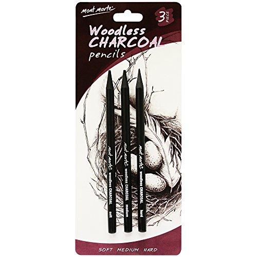 Mont Marte Woodless Charcoal Pencils