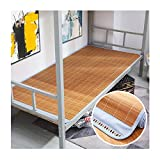 WENZHE Bambus Matratzen Sommer-Schlafmatten Strohmatte Teppiche 0,8/1,0 M Faltbar Zuhause Student Schlafzimmer Schlafsaal Bettwäsche, 4 Arten (Farbe : C, größe : 0.8x1.9m)