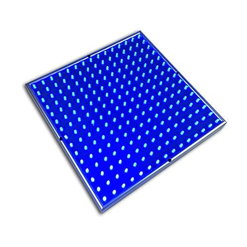 Belupai - Lámpara LED de cultivo para plantas (45W, luz roja, azul, 225 ledes, para interior/semilla hidropónica/planta de agua/vegetal/flores)