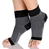Just Rider Pain Reliever Ankle Support Binder Compression Socks For Both Men