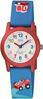Q&Q Unisex-Child Quartz Watch, Analog Display and Resin Strap VR99J004Y