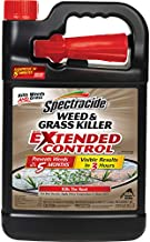Spectracide Weed & Grass Killer with Extended Control, Ready-to-Use, 1-Galllon, 4-Pack