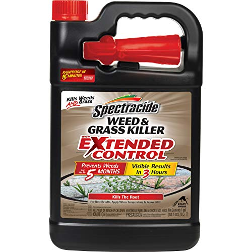 Spectracide Weed & Grass Killer with Extended Control, Ready-to-Use, 1-Galllon