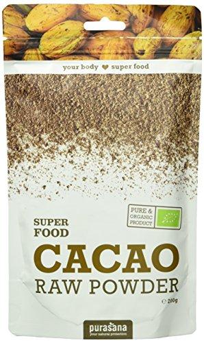 Purasana - Super Food - 200g - Végétarienne - Supplément 100% naturel - Kakao